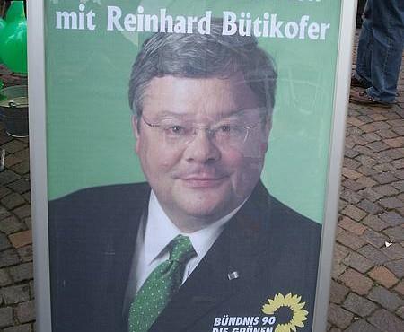 Plakat der Herforder Grünen