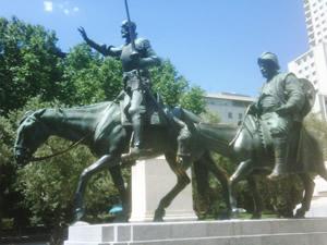 Don Quixote in Madrid